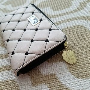NWT Betsey Johnson Quilted Wallet Clutch